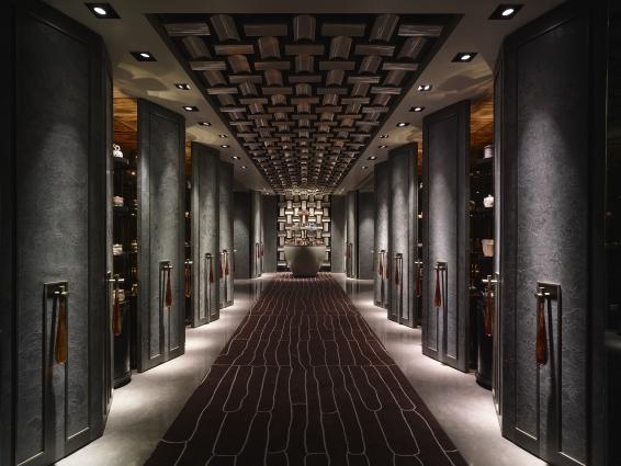 Shangri-La's Far Eastern Plaza Hotel, Taipei -Shang Palace Entrance