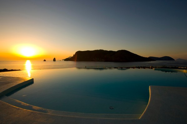 europe, italy, sicily, eolie island, vulcano, hotel therasia resort