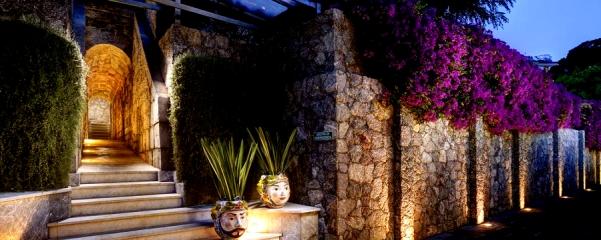 PLAGELa_Plage_Resort_Taormina_ingresso_serale